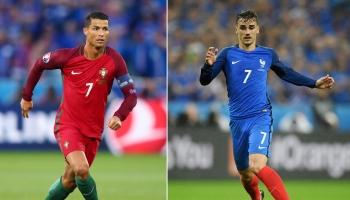 Euro 2016: Griezmann sfida CR7, per la Coppa e il Pallone d'Oro