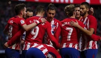 Atletico Madrid-Valencia, in palio il secondo posto