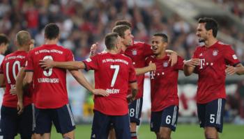 Bayern-Leverkusen, i bavaresi cercano già la vetta solitaria