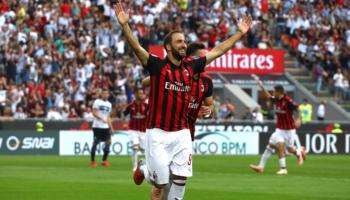 """Inter-Milan, Higuain può trascinare i rossoneri al primo successo """"in trasferta"""" dal 2010"""