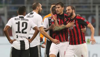 Juventus-Milan: Supercoppa già scritta? Higuain brama di vendetta