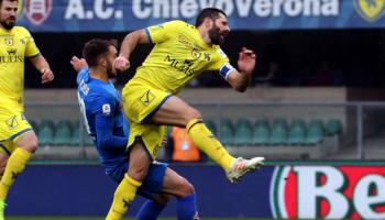 Chievo-Sampdoria, Pellissier saluta il Bentegodi