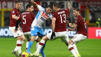 Napoli-Milan, nella sfida tra le due grandi deluse chi vince chiude in bellezza