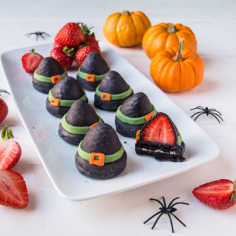 Strawberry Witches Hats