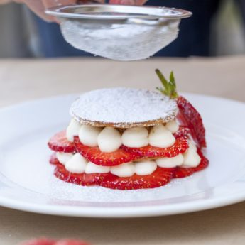 Strawberry & Macadamia Mille-feuille