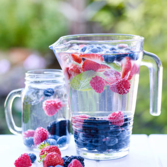 Beautiful Berry Infused Water