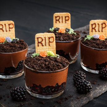 Berry Heavenly Graveyard Pudding