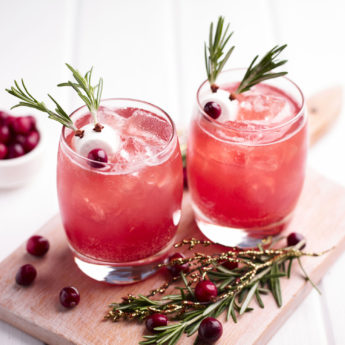 Rudolph's Cranberry Mocktail