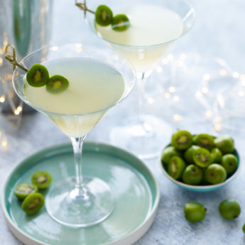 Kiwi Berry Martini