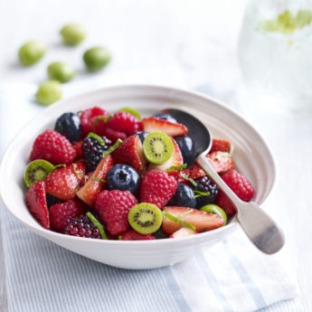 Kiwi Berry Fruit Salad