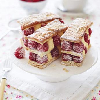 Raspberry Vanilla Millefeuille