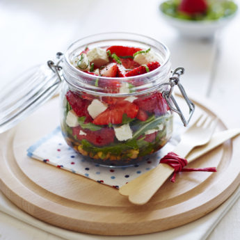 Strawberry Kilner Jar Salad