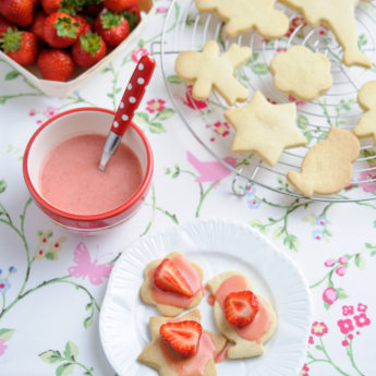 Strawberry Shortbreads
