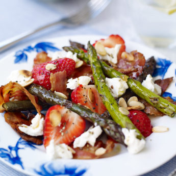 Strawberry, Asparagus & Ginger Salad
