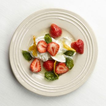 Strawberry, Mozzarella & Basil Salad