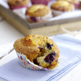 Blueberry & Lemon Curd Muffins