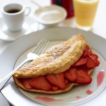 Brunch Strawberry Soufflé