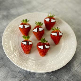 Spiderman Strawberries