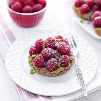 Tartelettes Pistache & Framboises