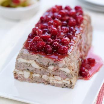 Pork & Cranberry Terrine