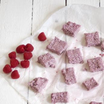 Raspberry Cashew Oaty Bites