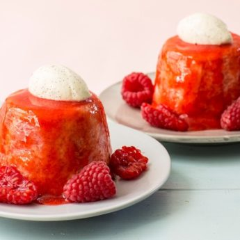 Raspberry Summer Pudding
