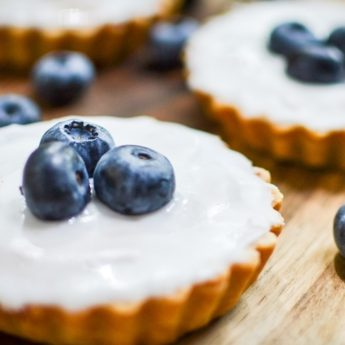 Blueberry Bakewell Tarts