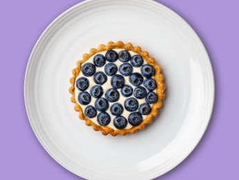 Picture of Peek-a-Blue(berry) Custard Tart