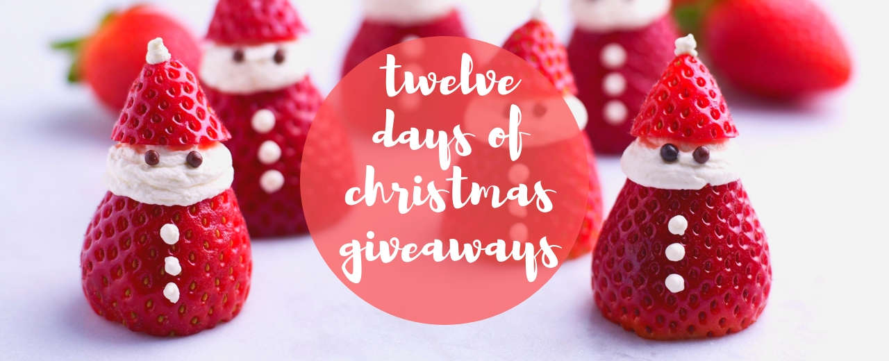 Twelve days of Christmas giveaways with BerryWorld