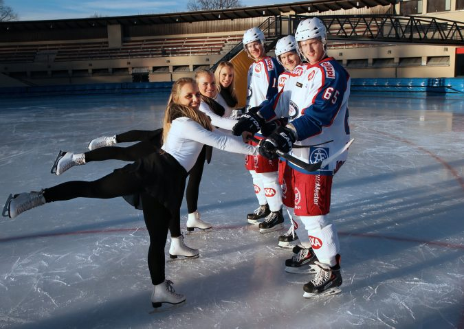Isdans på Frogner stadion