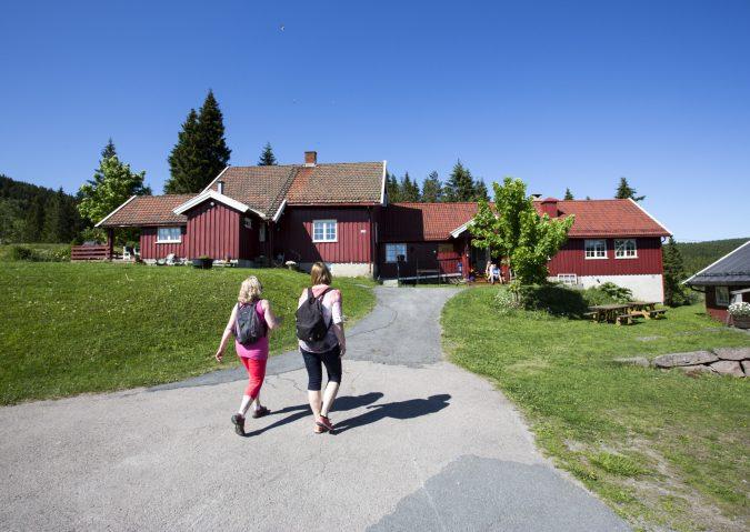 Gåtur til idylliske Finnerud Sportsstue
