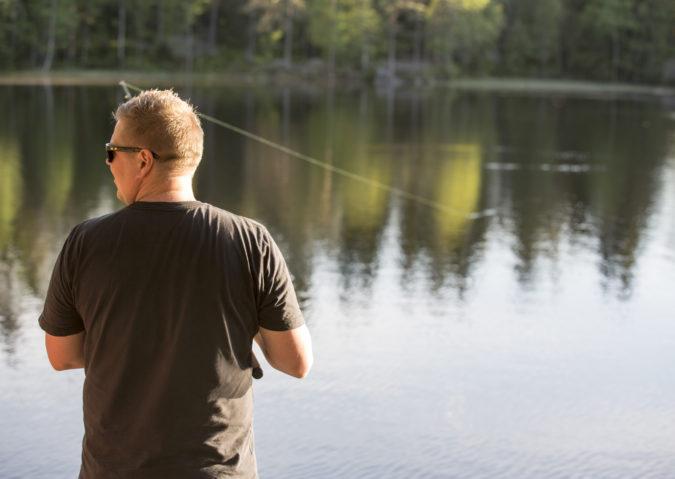 Fiske i marka