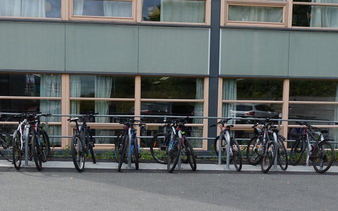 Sykkelparkering ved skoler