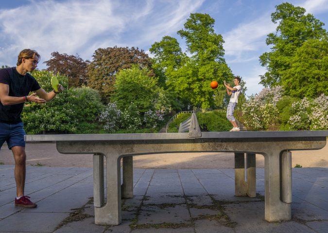 Kampen park - pingpong