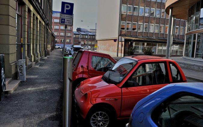 Betaling for parkering på ladeplasser