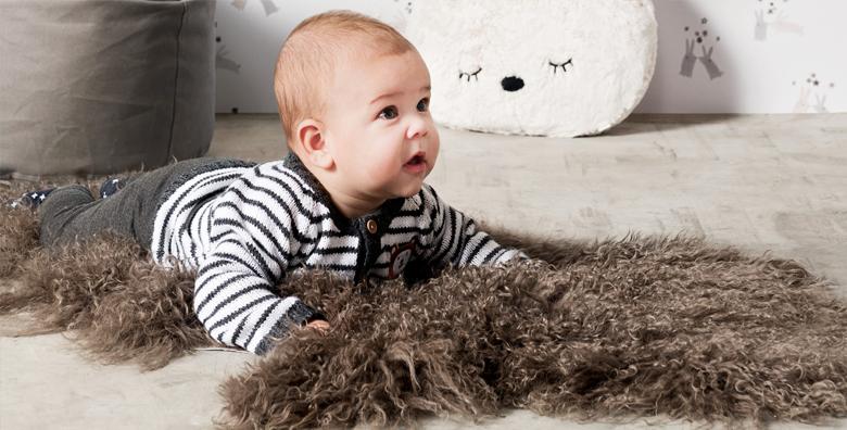 Zacht kruipen voor kleine knietjes