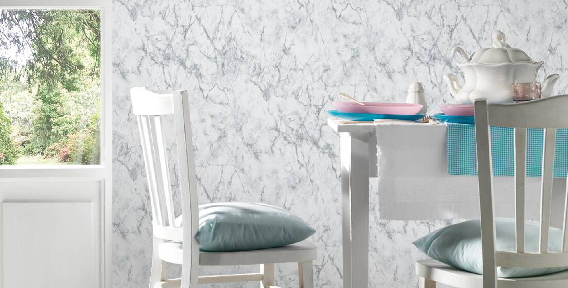Luxe, zacht en elegant: marmer behang heeft het allemaal!