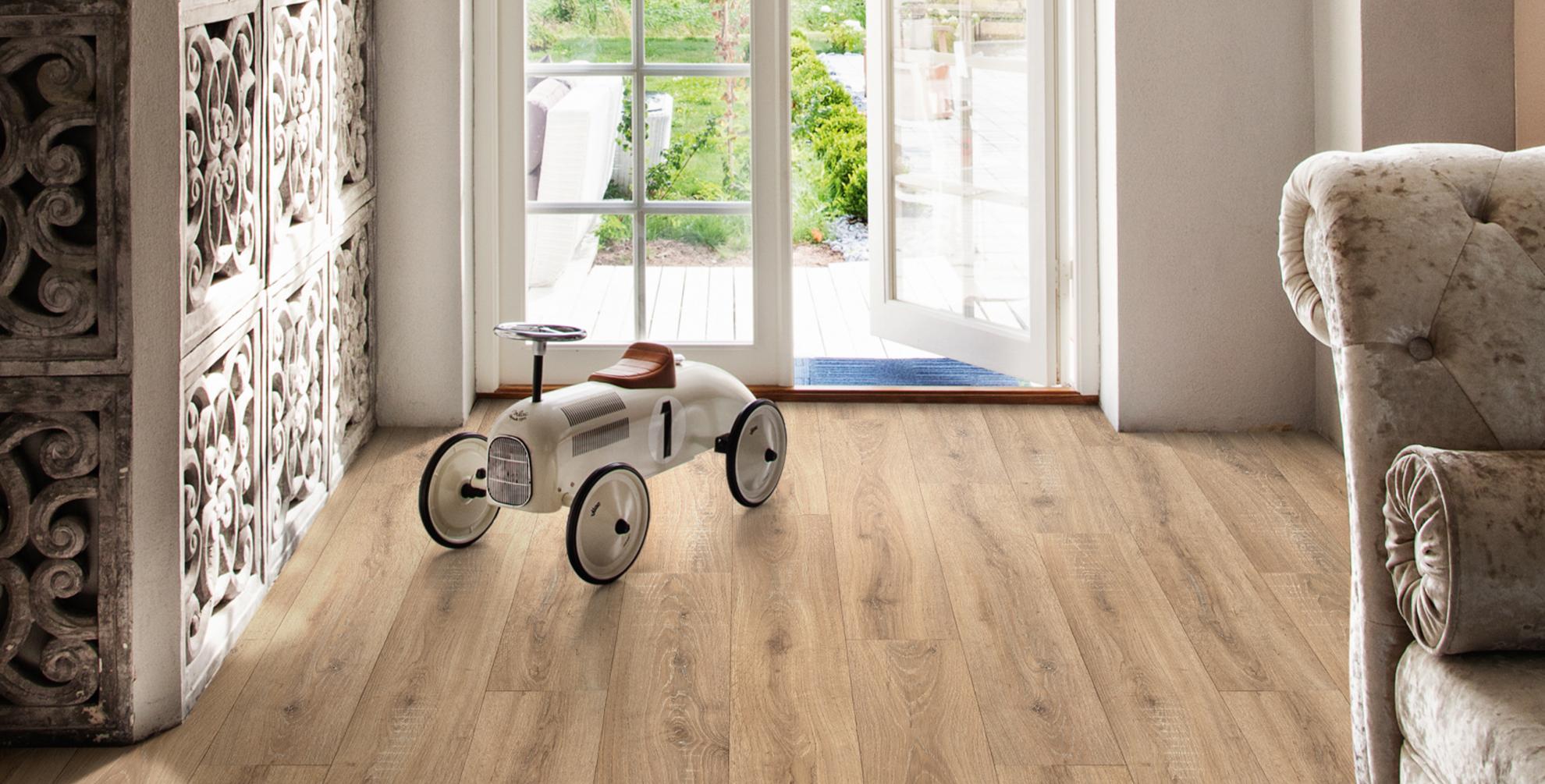 De perfecte vloer bij een romantische woonstijl
