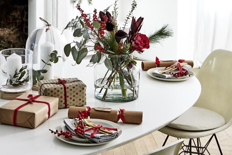 Feestdagen Natuurlijke Kerstdecoratie : Stijlen kerstdecoraties