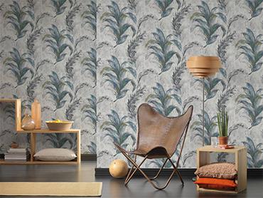 Blog: Behang als <b>bijzonder</b> meubelstuk