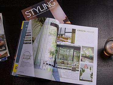 Bekijk het <br><b>Styling magazine</b>