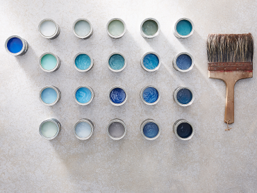 Little Greene; <b>Blue collection</b> een impressie