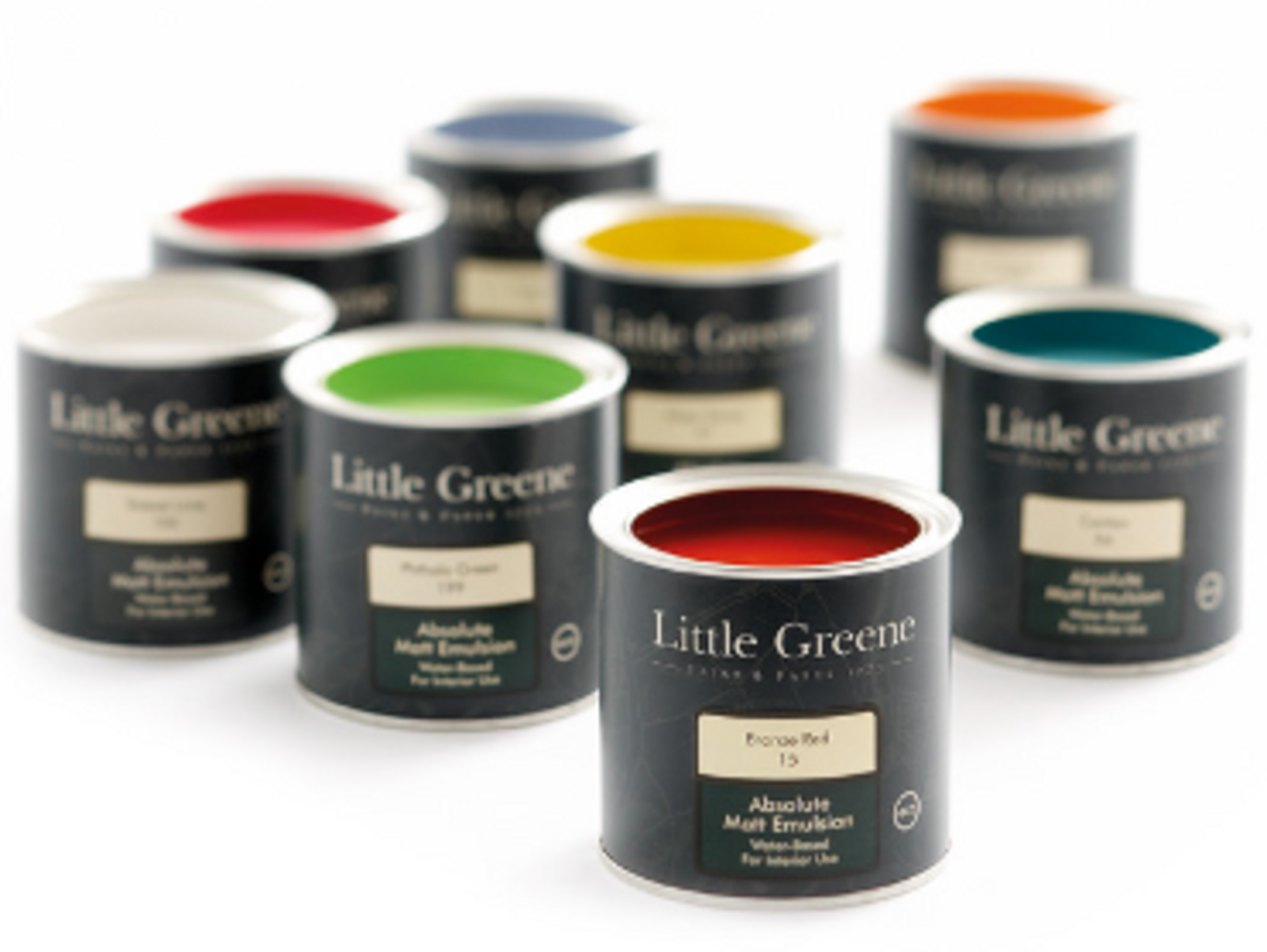 Little Greene; 191 traditionele, eigentijdse <b>kleuren</b>.