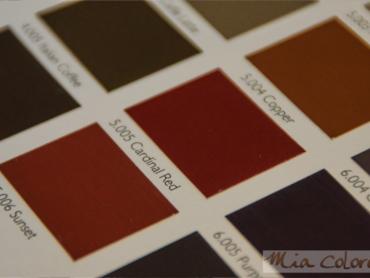 de <b>67 kleuren</b> van Mia Colore