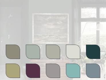 <b>New Romanticism</b> kleurenpalet