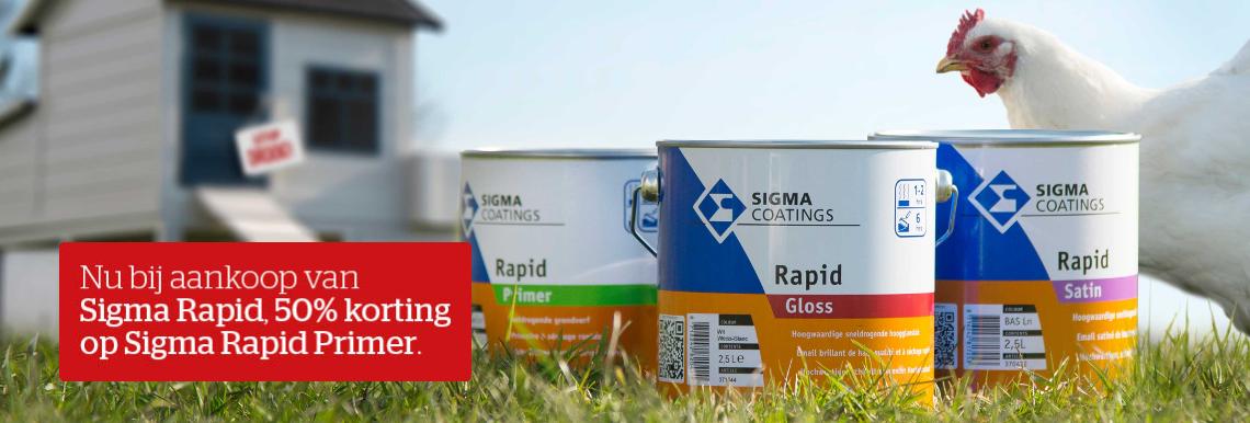 Ontdek Sigma Rapid met Fast Drying Technology