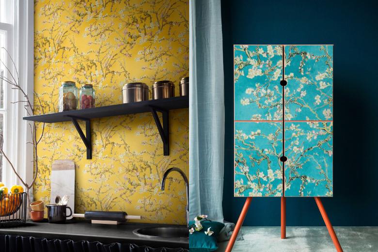 Van Gogh Behang : Bn van gogh behang daubignys garden bn van gogh
