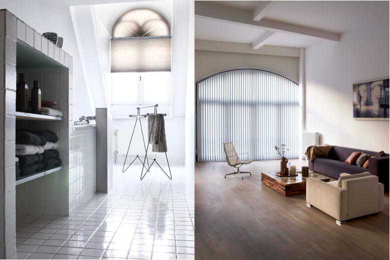 pliss duette verticale lamellen en shutters deze kunnen in bijzondere vormen gemaakt worden zelf vind ik shutters erg mooi uitkomen in zon situatie