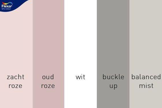 Roze Grijze Slaapkamer : Kleurinspiratie roze