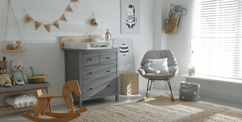 Een babykamer van deze tijd